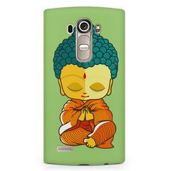 Buddha caricature design LG G4 printed back cover