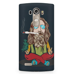 Smoking high design LG G4 printed back cover