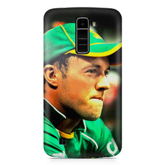 AB de Villiers South Africa  LG k7 printed back cover