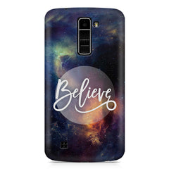 Believe in yourself LG k10 printed back cover