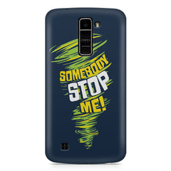 Be Unstoppable design LG k10 printed back cover