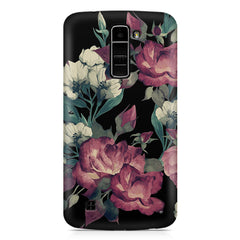Abstract colorful flower design LG k7 printed back cover