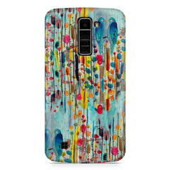 Birds canvas painting design LG k10 printed back cover