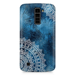Authentic rangoli pattern LG k10 printed back cover
