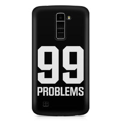 99 problems quote design LG k10 printed back cover