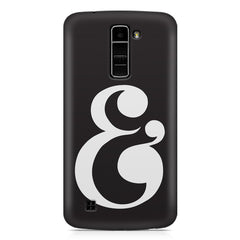 & design LG k10 printed back cover