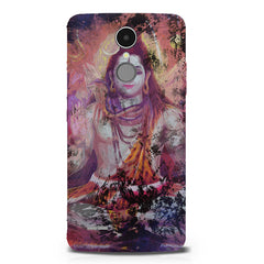 Shiva painted design LG K8 2017 printed back cover