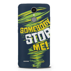 Be Unstoppable design LG K8 2017 printed back cover