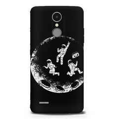 Enjoying space astraunauts design LG K8 2017 printed back cover