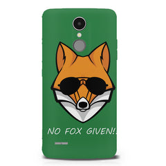 No fox given design LG K8 2017 printed back cover