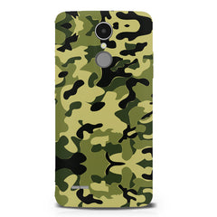 Camoflauge army color design LG K8 2017 printed back cover