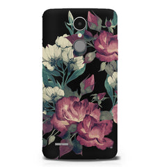 Abstract colorful flower design LG K8 2017 printed back cover