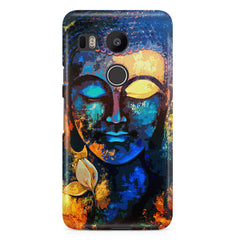 Buddha abstract painting LG Nexus 5X printed back cover
