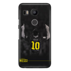 No.10 Lionel Messi Barcalona LG Nexus 5X printed back cover