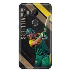 Ab De Villiers the Batting pose LG Nexus 5X all side printed hard back cover by Motivate box LG Nexus 5X hard plastic printed back cover.