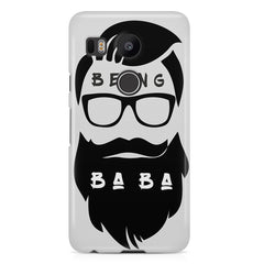 Being Baba design LG Nexus 5X printed back cover