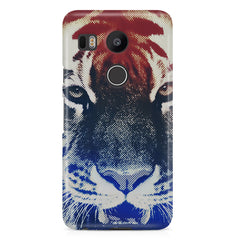 Pixel Tiger Design LG Nexus 5X hard plastic printed back cover.