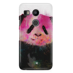 Polar Bear portrait design LG Nexus 5X hard plastic printed back cover.