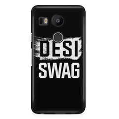 Desi Swag LG Nexus 5X hard plastic printed back cover.