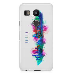 Incredible India Design LG Nexus 5X hard plastic printed back cover.