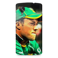 AB de Villiers South Africa  LG Nexus 5 printed back cover