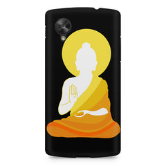Buddha sketch design LG Nexus 5 printed back cover