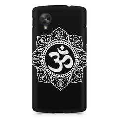 Om rangoli design LG Nexus 5 printed back cover
