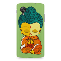 Buddha caricature design LG Nexus 5 printed back cover