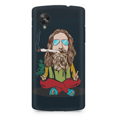 Smoking high design LG Nexus 5 printed back cover