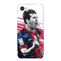 Messi illustration design,  LG Q6  printed back cover