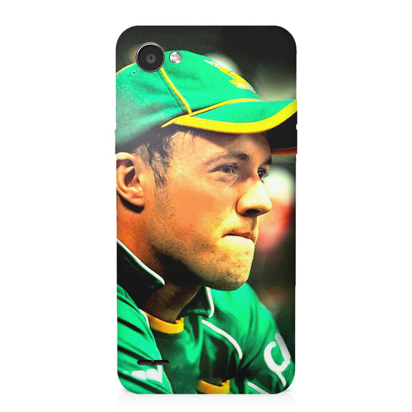 AB de Villiers South Africa  LG Q6  printed back cover