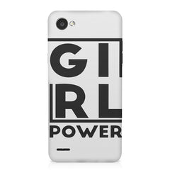 Girl power deisgn LG Q6  printed back cover