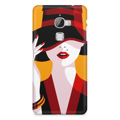 Classy girl  design,  LeEco Le 3 printed back cover