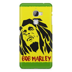 Black bob marley  LeEco Le 3 printed back cover