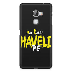 Aao kabhi haveli pe  design,  LeEco Le 3 printed back cover