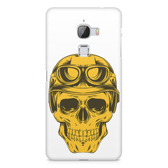 Explorer Skull Concept Art design,  LeEco Le 3 printed back cover