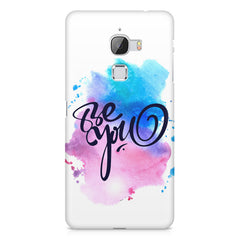 Be yourself design LeEco Le 3 printed back cover