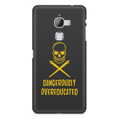 Dangerously overeducated design LeEco Le 3 printed back cover