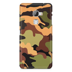 Camoflauge design LeEco Le 3 printed back cover