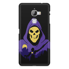 Evil looking skull design LeEco Le 3 printed back cover
