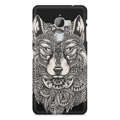 Fox illustration design LeEco Le 3 printed back cover