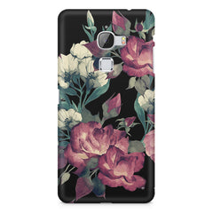 Abstract colorful flower design LeEco Le 3 printed back cover