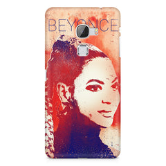 Beyonce sketch design LeEco Le Max printed back cover
