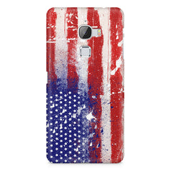 American flag design LeEco Le Max printed back cover