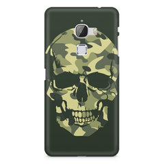 Camouflage skull design LeEco Le Max printed back cover