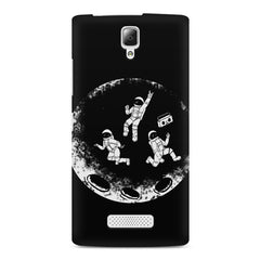 Enjoying space astraunauts design Lenovo A2010 printed back cover