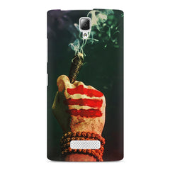 Smoke weed (chillam) design Lenovo A2010 printed back cover