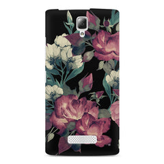 Abstract colorful flower design Lenovo A2010 printed back cover