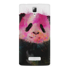 Polar Bear portrait design Lenovo A2010 hard plastic printed back cover