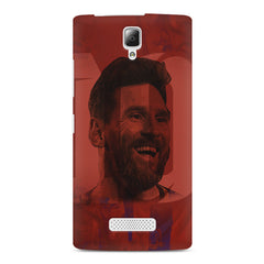 Messi jersey 10 blended design Lenovo A2010 hard plastic printed back cover